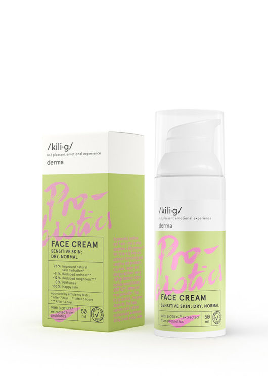 face cream for sensitive dry, normal skin