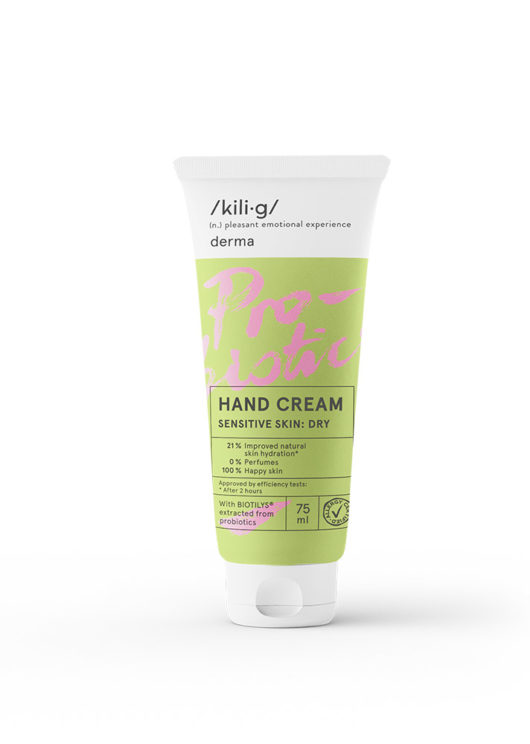 Hand cream for sensitive dry skin