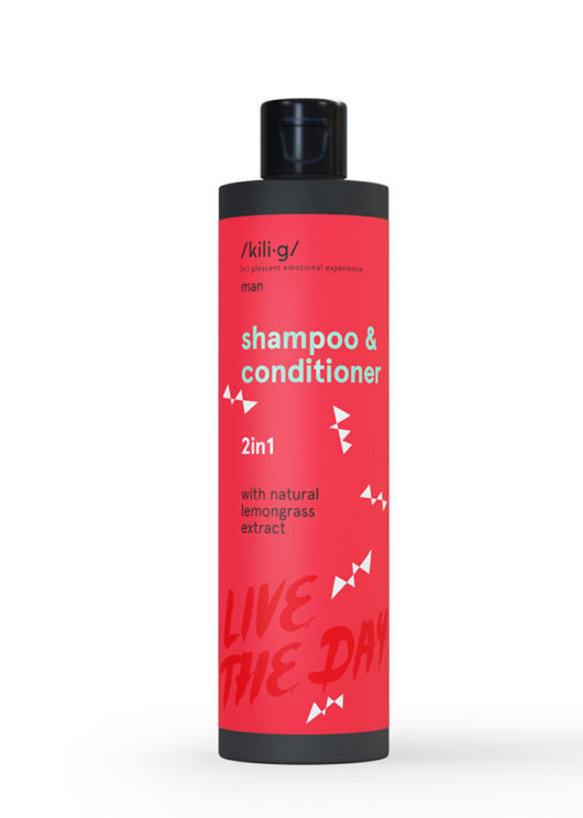 2 in 1: Shampoo & conditioner